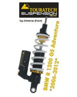 Touratech Suspension *front* shock absorber for BMW R1200GS Adventure 2006-2013 type *Extreme*