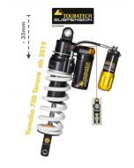 Touratech Suspension lowering shock (-35mm) for Yamaha 700 Tenere from 2019 Type Extreme