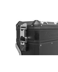 Pannier extension VOLUME BOOSTER for original BMW aluminium pannier, black