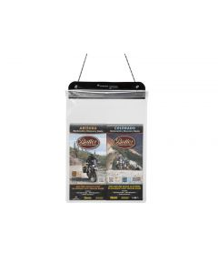 Document bag, size L, DIN-A4, transparent, by Touratech Waterproof made by ORTLIEB