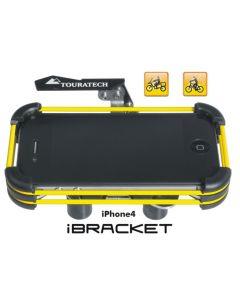 Handlebar bracket for Apple iPhone4 and iPhone 4S *iBracket* *Motorcycle & Bicycle*