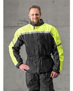Rain jacket with membrane