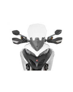 Windscreen, L, transparent, for Ducati Multistrada 1200 from 2015, 950