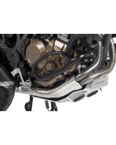 Engine crash bar, stainless steel black, for Honda CRF1000L Africa Twin